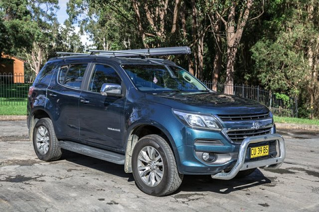 Used Holden Trailblazer RG MY17 LTZ Port Macquarie, 2017 Holden Trailblazer RG MY17 LTZ Teal Blue 6 Speed Sports Automatic Wagon