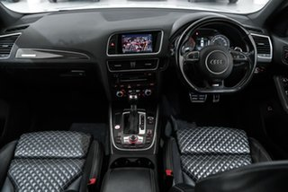 2015 Audi SQ5 8R MY16 TDI Tiptronic Quattro White 8 Speed Sports Automatic Wagon.
