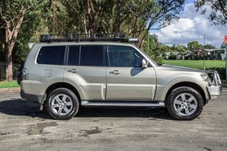 2007 Mitsubishi Pajero NS VR-X Gold 5 Speed Sports Automatic Wagon