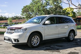 2013 Dodge Journey JC MY13 SXT White 6 Speed Automatic Wagon.