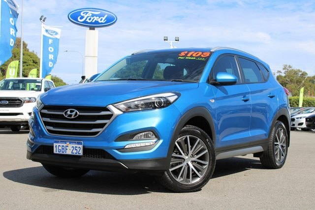 Used Hyundai Tucson TL MY17 Active X 2WD Midland, 2016 Hyundai Tucson TL MY17 Active X 2WD Blue 6 Speed Manual Wagon