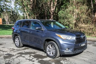 2014 Toyota Kluger GSU55R GXL AWD Grey 6 Speed Sports Automatic Wagon.