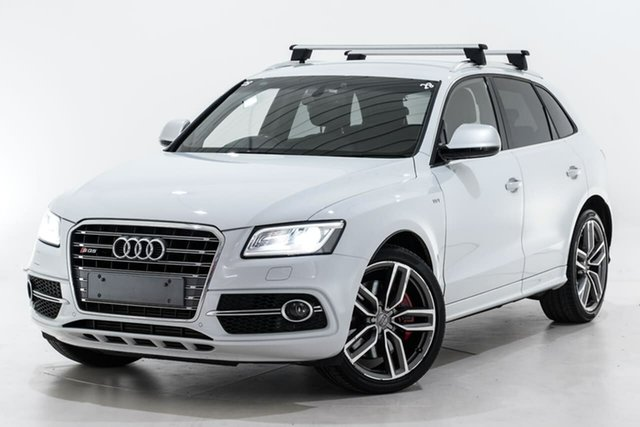 Used Audi SQ5 8R MY16 TDI Tiptronic Quattro Berwick, 2015 Audi SQ5 8R MY16 TDI Tiptronic Quattro White 8 Speed Sports Automatic Wagon