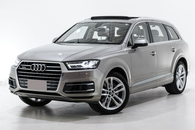 Used Audi Q7 4M MY16 TDI Tiptronic Quattro Berwick, 2016 Audi Q7 4M MY16 TDI Tiptronic Quattro Beige 8 Speed Sports Automatic Wagon