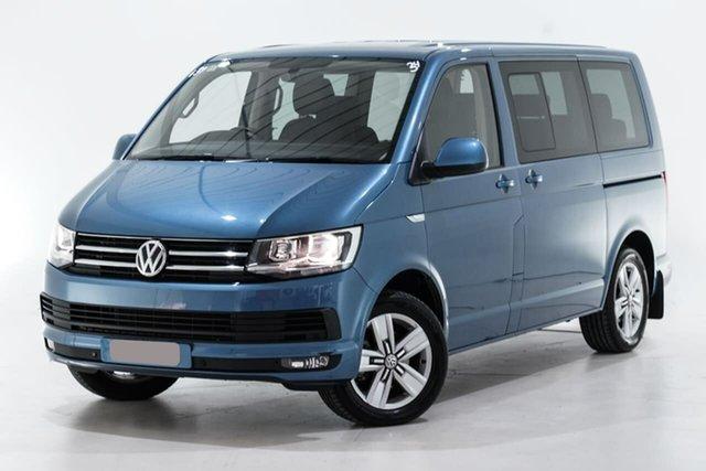 Used Volkswagen Multivan T6 MY16 TDI340 SWB DSG Comfortline Berwick, 2016 Volkswagen Multivan T6 MY16 TDI340 SWB DSG Comfortline Blue 7 Speed