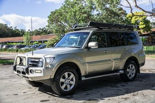 2007 Mitsubishi Pajero NS VR-X Gold 5 Speed Sports Automatic Wagon.