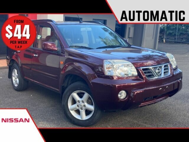 Used Nissan X-Trail T30 ST Ashmore, 2002 Nissan X-Trail T30 ST Metallic Red 4 Speed Automatic Wagon