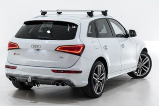 2015 Audi SQ5 8R MY16 TDI Tiptronic Quattro White 8 Speed Sports Automatic Wagon.