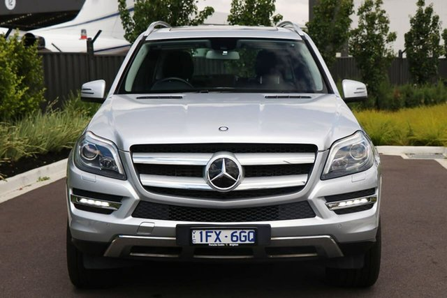 Used Mercedes-Benz GL-Class X166 GL350 BlueTEC 7G-Tronic + Essendon Fields, 2013 Mercedes-Benz GL-Class X166 GL350 BlueTEC 7G-Tronic + Silver 7 Speed Sports Automatic Wagon