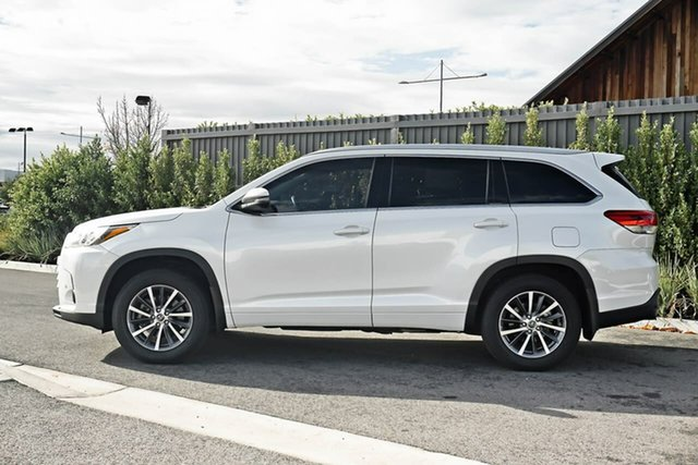 Used Toyota Kluger GSU50R GXL 2WD Essendon Fields, 2017 Toyota Kluger GSU50R GXL 2WD White 8 Speed Sports Automatic Wagon