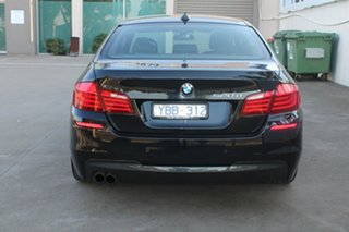 2010 BMW 520d F10 MY11 Black 8 Speed Automatic Sedan