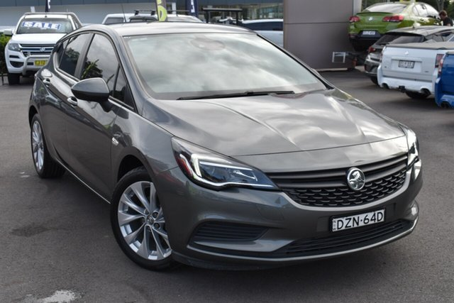Used Holden Astra BK MY18.5 R+ Tuggerah, 2018 Holden Astra BK MY18.5 R+ Grey 6 Speed Sports Automatic Hatchback