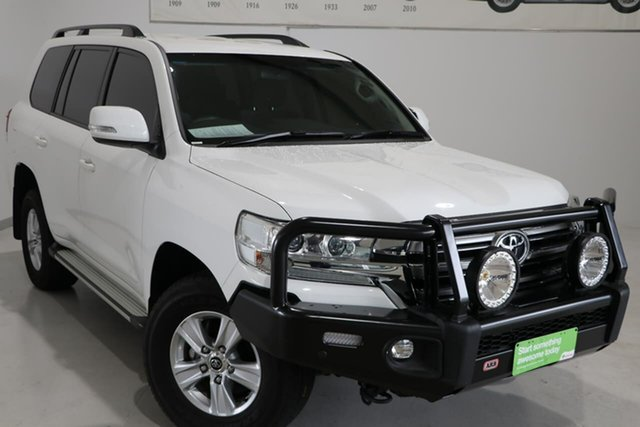 Used Toyota Landcruiser VDJ200R GXL Wagga Wagga, 2018 Toyota Landcruiser VDJ200R GXL White 6 Speed Sports Automatic Wagon