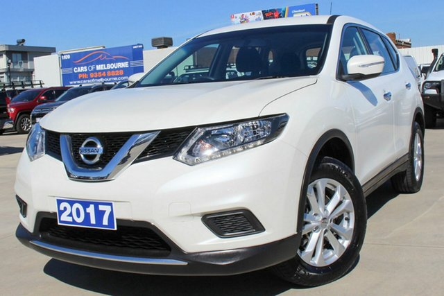 Used Nissan X-Trail T32 ST X-tronic 2WD Coburg North, 2017 Nissan X-Trail T32 ST X-tronic 2WD White 7 Speed Constant Variable Wagon