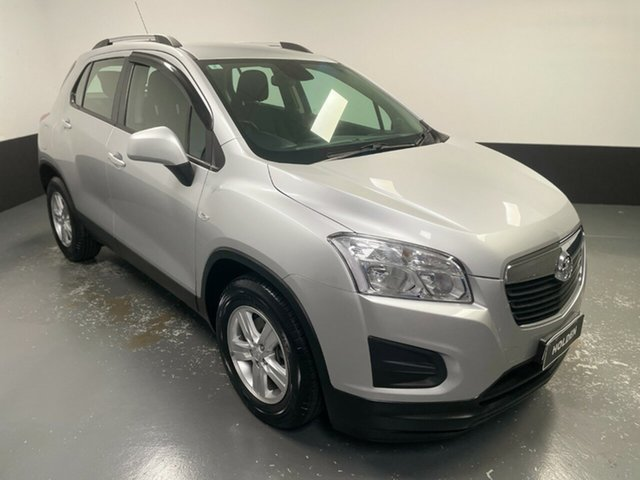 Used Holden Trax TJ MY14 LS Cardiff, 2014 Holden Trax TJ MY14 LS Silver 6 Speed Automatic Wagon