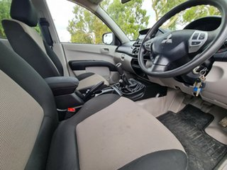2014 Mitsubishi Triton MN MY15 GLX Double Cab Black/Grey 5 Speed Manual Utility
