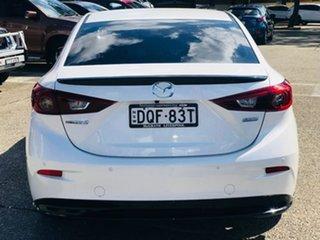 2017 Mazda 3 BN5238 SP25 SKYACTIV-Drive GT White 6 Speed Sports Automatic Sedan