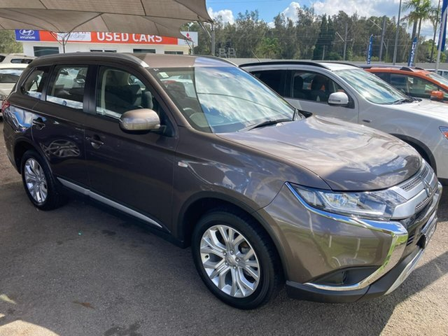 Used Mitsubishi Outlander ZL MY19 ES AWD North Gosford, 2019 Mitsubishi Outlander ZL MY19 ES AWD Bronze 6 Speed Constant Variable Wagon