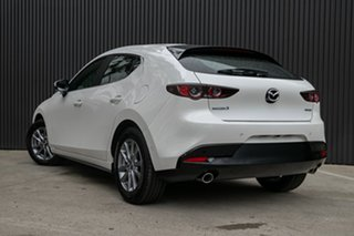 2021 Mazda 3 BP2H7A G20 SKYACTIV-Drive Pure Snowflake White Pearl 6 Speed Sports Automatic Hatchback