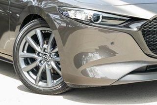 2021 Mazda 3 BP2H7A G20 SKYACTIV-Drive Touring Titanium Flash 6 Speed Sports Automatic Hatchback.