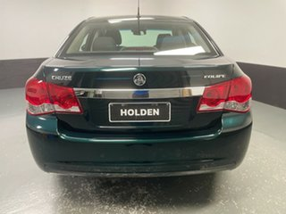 2014 Holden Cruze JH Series II MY14 Equipe Dark Green 5 Speed Manual Sedan