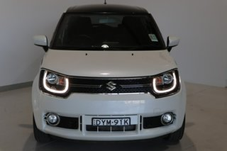 2018 Suzuki Ignis MF GLX White 1 Speed Constant Variable Hatchback