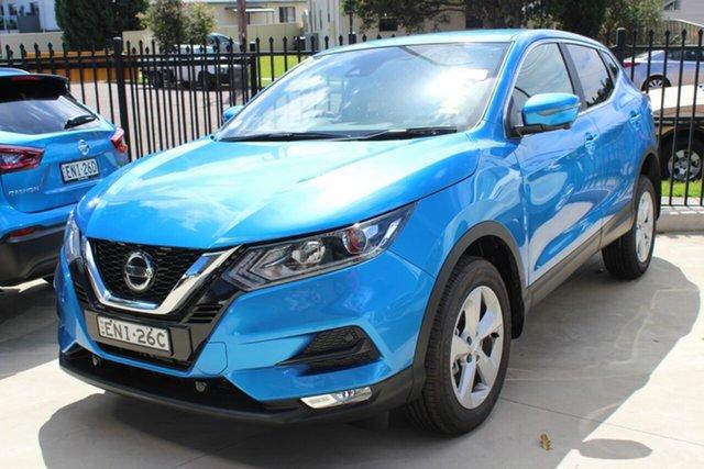Demo Nissan Qashqai J11 Series 3 MY20 ST+ X-tronic Cardiff, 2020 Nissan Qashqai J11 Series 3 MY20 ST+ X-tronic Vivid Blue 1 Speed Constant Variable Wagon