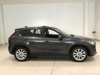2013 Mazda CX-5 KE1021 MY13 Akera SKYACTIV-Drive AWD Meteor Grey/ke 6 Speed Sports Automatic Wagon.