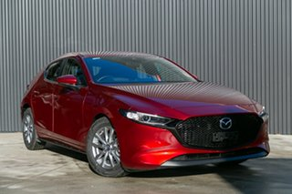 2020 Mazda 3 BP2H7A G20 SKYACTIV-Drive Pure Soul Red Crystal 6 Speed Sports Automatic Hatchback.