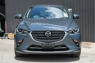 2021 Mazda CX-3 DK2W7A sTouring SKYACTIV-Drive FWD Polymetal Grey 6 Speed Sports Automatic Wagon.