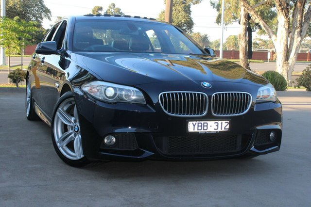 Used BMW 520d F10 MY11 West Footscray, 2010 BMW 520d F10 MY11 Black 8 Speed Automatic Sedan