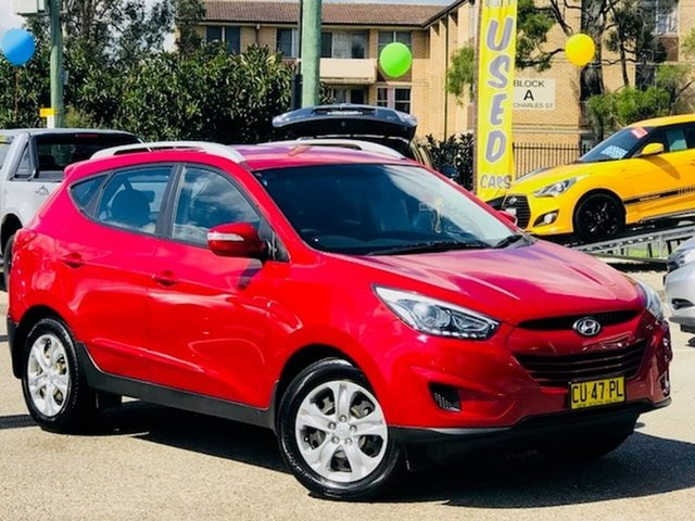 Used Hyundai ix35 LM3 MY14 Active Liverpool, 2014 Hyundai ix35 LM3 MY14 Active Red 6 Speed Sports Automatic Wagon