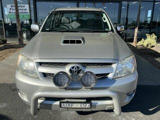 2007 Toyota Hilux KUN26R 07 Upgrade SR5 (4x4) Silver 4 Speed Automatic Dual Cab Pick-up.