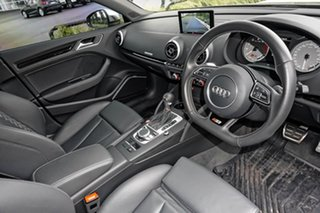 2015 Audi S3 8V MY15 S Tronic Quattro Grey 6 Speed Sports Automatic Dual Clutch Sedan.
