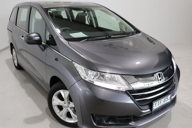 Used Honda Odyssey RC MY17 VTi Wagga Wagga, 2017 Honda Odyssey RC MY17 VTi Grey 7 Speed Constant Variable Wagon