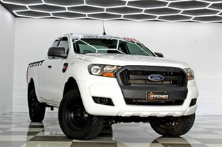 2015 Ford Ranger PX MkII XL 2.2 Hi-Rider (4x2) White 6 Speed Automatic Super Cab Chassis.