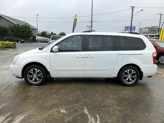 2014 Kia Grand Carnival VQ MY14 Platinum White 6 Speed Sports Automatic Wagon.