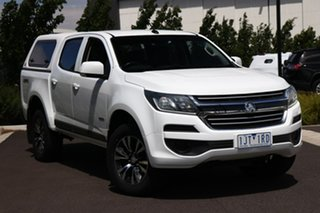 2017 Holden Colorado RG MY17 LS Pickup Crew Cab White 6 Speed Sports Automatic Utility.