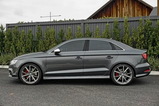 2015 Audi S3 8V MY15 S Tronic Quattro Grey 6 Speed Sports Automatic Dual Clutch Sedan