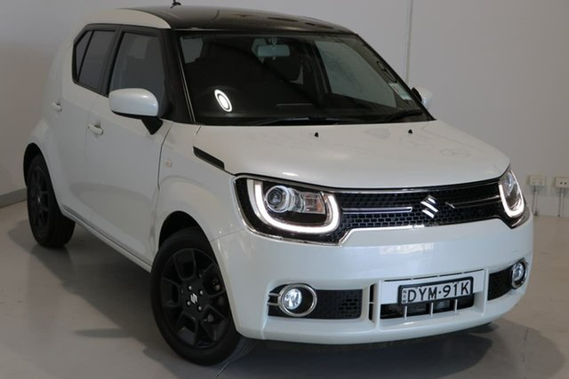 Used Suzuki Ignis MF GLX Wagga Wagga, 2018 Suzuki Ignis MF GLX White 1 Speed Constant Variable Hatchback