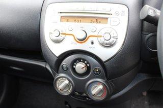 2011 Nissan Micra K13 ST Black 4 Speed Automatic Hatchback