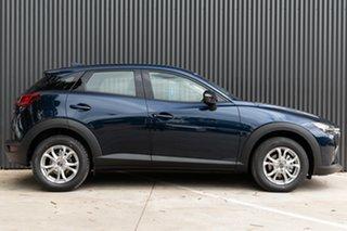 2021 Mazda CX-3 DK2W7A Maxx SKYACTIV-Drive FWD Sport Deep Crystal Blue 6 Speed Sports Automatic.