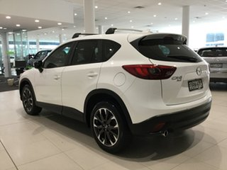 2015 Mazda CX-5 KE1022 Grand Touring SKYACTIV-Drive AWD Crystal White Pearl 6 Speed Sports Automatic