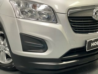 2014 Holden Trax TJ MY14 LS Silver 6 Speed Automatic Wagon.