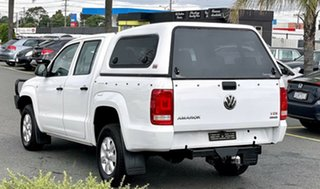 2014 Volkswagen Amarok 2H MY14 TDI400 4Mot White 6 Speed Manual Utility