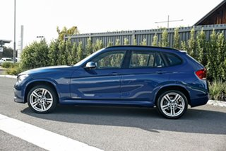 2014 BMW X1 E84 LCI MY1113 sDrive18d Steptronic Blue 8 Speed Sports Automatic Wagon.