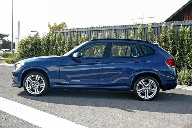 Used BMW X1 E84 LCI MY1113 sDrive18d Steptronic Essendon Fields, 2014 BMW X1 E84 LCI MY1113 sDrive18d Steptronic Blue 8 Speed Sports Automatic Wagon