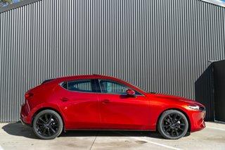 2021 Mazda 3 BP2HLA G25 SKYACTIV-Drive Astina Soul Red Crystal 6 Speed Sports Automatic Hatchback.