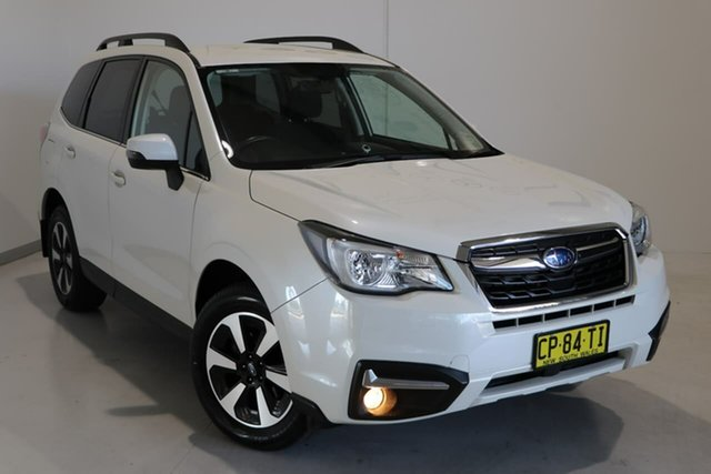 Used Subaru Forester S4 MY18 2.5i-L CVT AWD Wagga Wagga, 2018 Subaru Forester S4 MY18 2.5i-L CVT AWD White 6 Speed Constant Variable Wagon