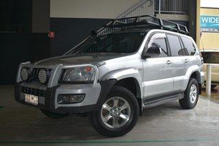 2005 Toyota Landcruiser Prado GRJ120R GXL (4x4) Silver 5 Speed Automatic Wagon